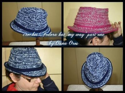 Crochet Fedora