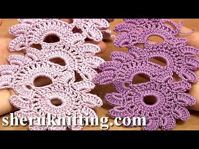 Crochet Floral Lace Tutorial 12 Beautiful Crochet Lace Patterns