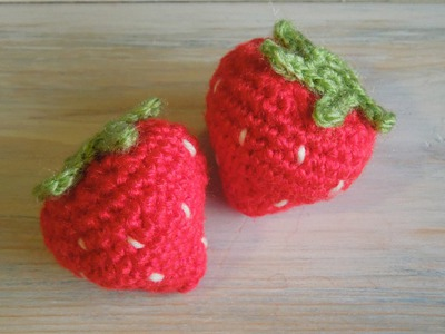 (crochet) How To - Crochet a Strawberry