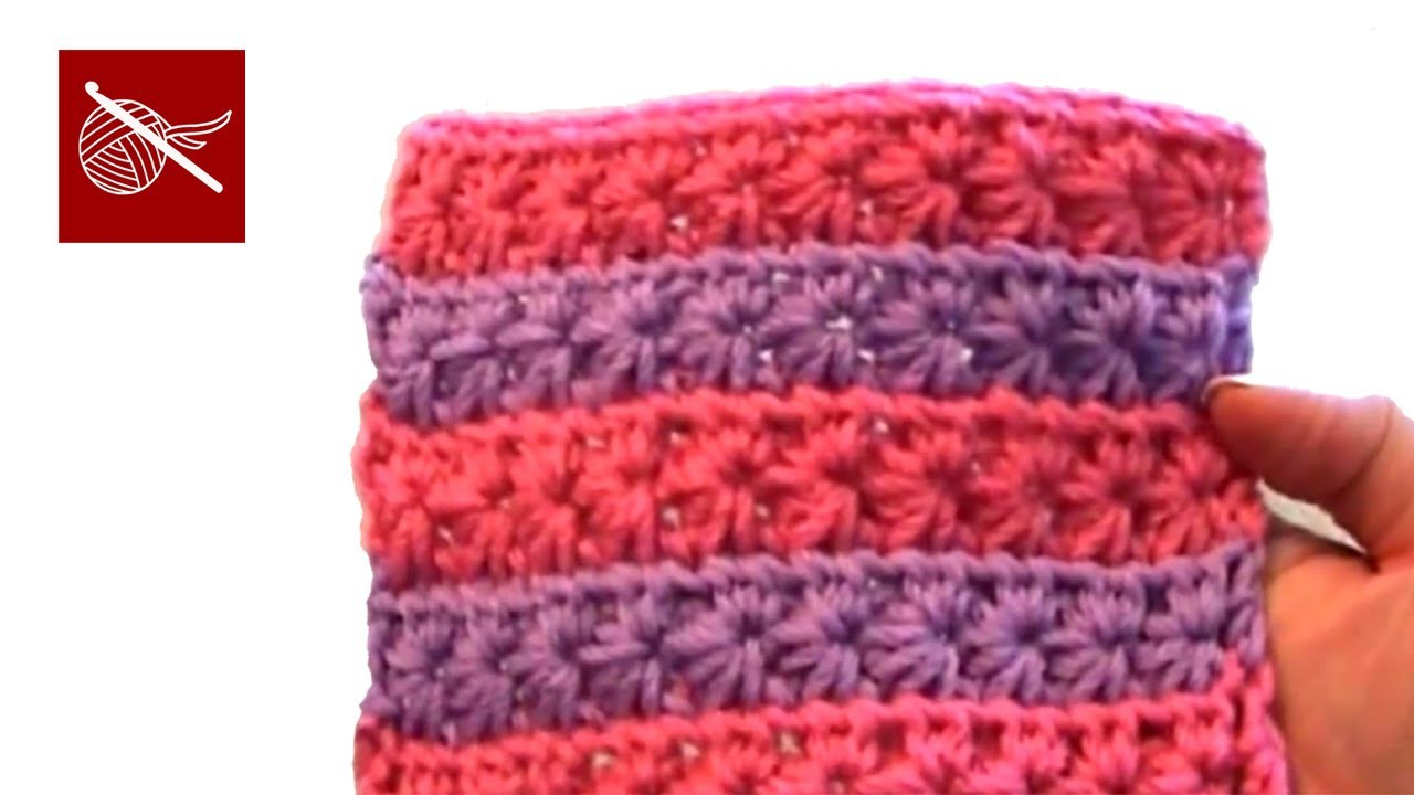 Crochet Star Stitch Crochet Geek