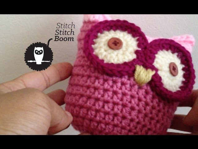 Crochet Tutorial: Pudgy Little Owl