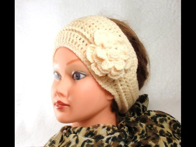 DIY Crochet Headband, Tutorial, DIY Crochet Headband