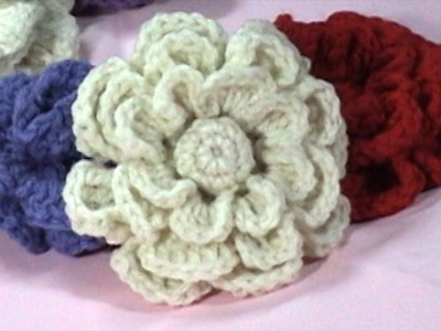 DIY, Flowers to Crochet, Crochet Flower Tutorial, Part 1