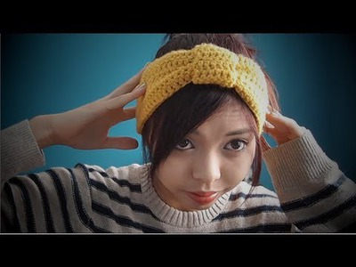 DIY ✂ How to Crochet a Knot Headband