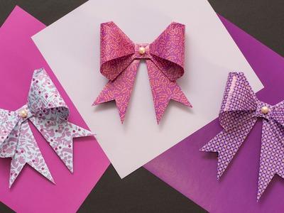 DIY Origamischleife mit schmuckladen.de