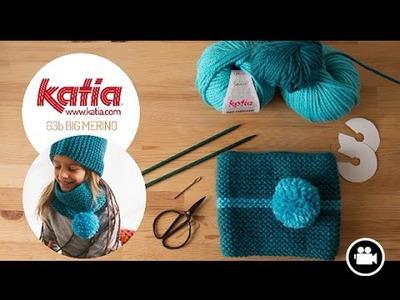 DIY Tejer Cuello Niños · Knit Kids Cowl Big Merino