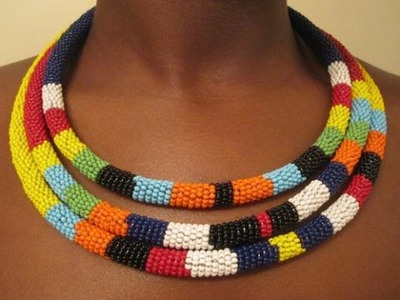 DIY Tribal Necklace