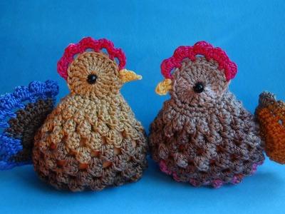 Easter chickens пасхальные вязаные курочки   вязание крючком crochet pattern for free