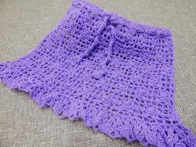Falda para Niña Crochet