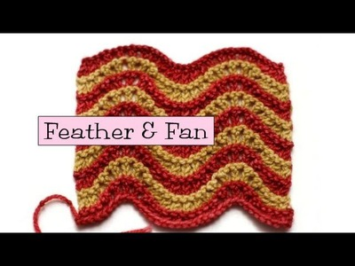Fancy Stitch Combos - Feather and Fan