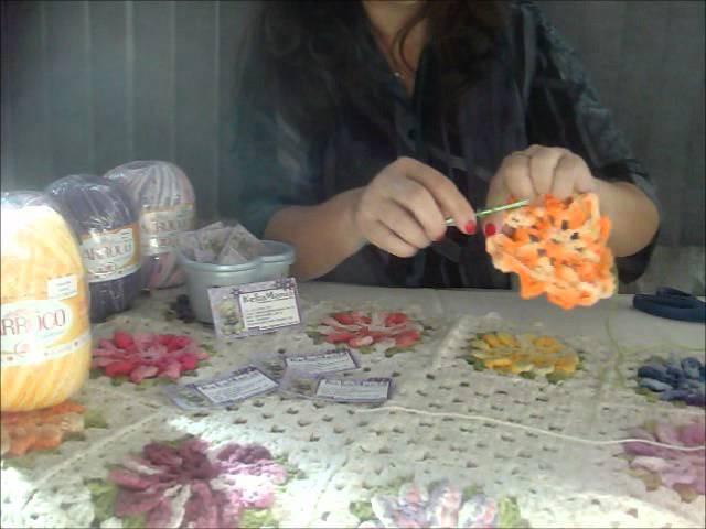 Flor de Barbante Barroco