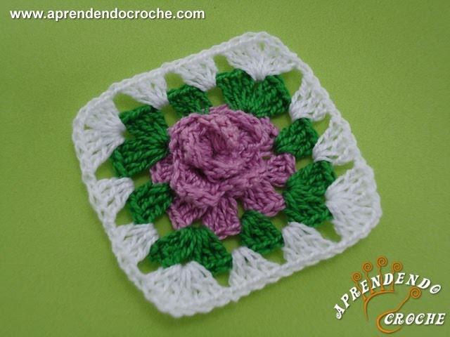 Flor de Crochê Maravilha - Aprendendo Crochê