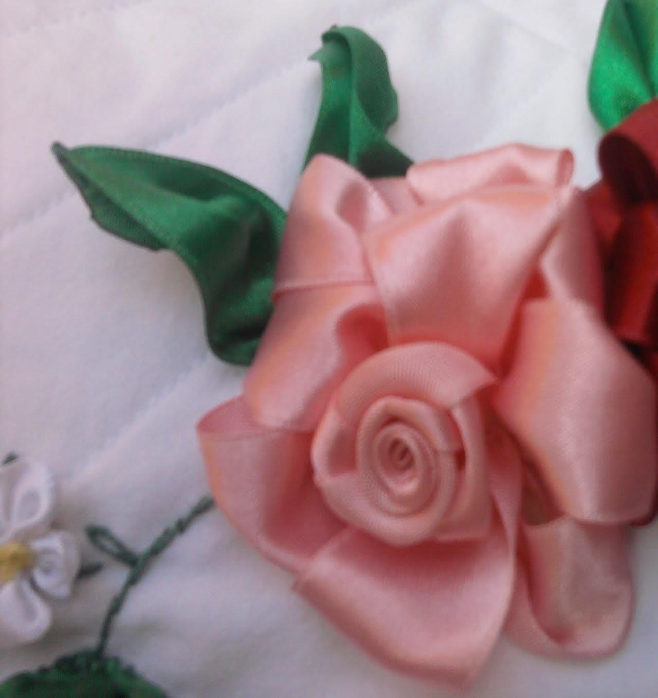 Flores de Cetim. Rosa - Parte 1 Passo a Passo