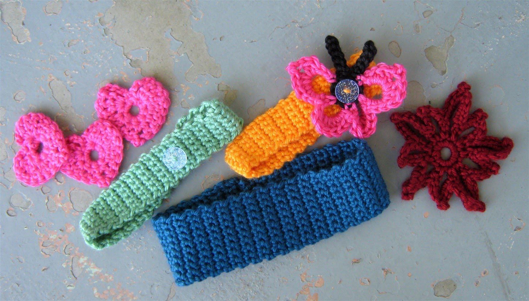 How to crochet a basic headband or hairband, easy