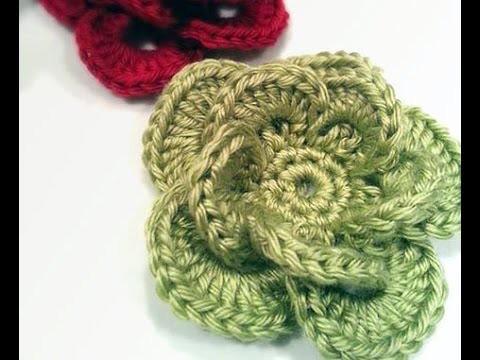 How to Crochet a Flower: Crochet Wagon Wheel Flower Free Crochet Pattern