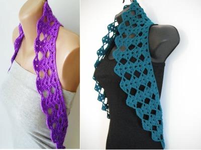 How to crochet vest shrug free pattern tutorial for beginners