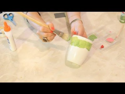 How to Decorate a Craft Mug : Kids' Crafts & More