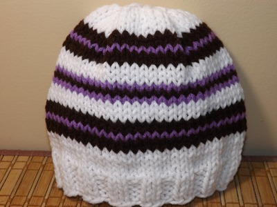 How to Knit a Hat or Beanie