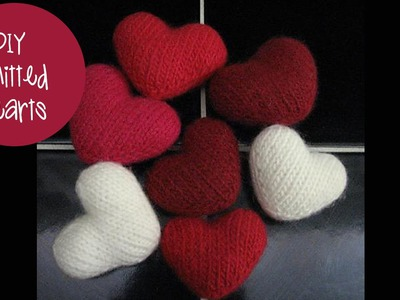 How to knit a puff heart