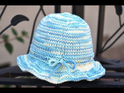 How to Knit a Sun Hat