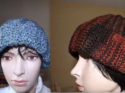 How to Knit Adult Hat or Beanie (Ribbed Stich)