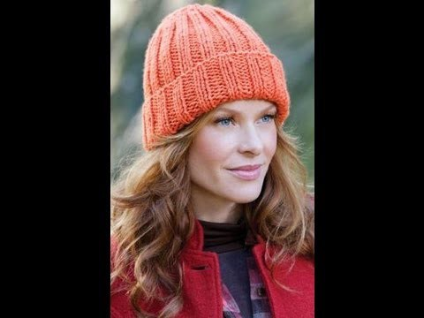 How to #Knit - Easy Fit Ribbed Hat