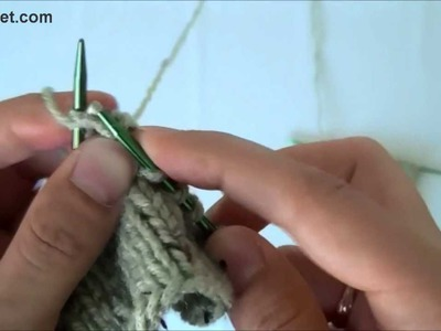 How to knit fast and simple berry pattern - knitting tutorials