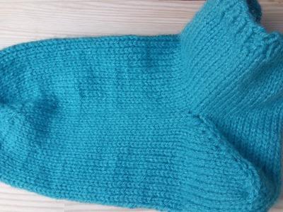 How to knit socks very easy - Woolpedia