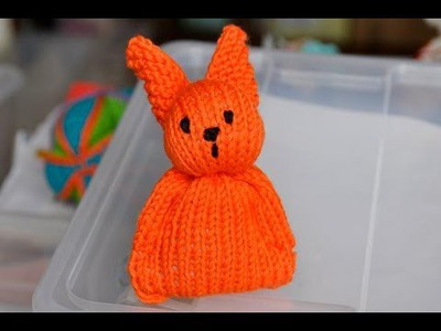 How to Knit * Super Easy Easter Bunny for Beginners
