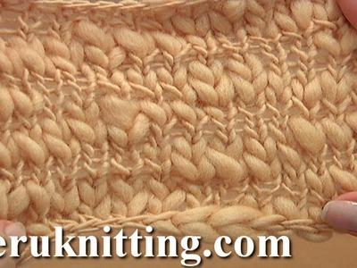 How to Knit The Stockinette Stitch Tutorial 4 Part 1 of 2 One Way To Work Stockinette