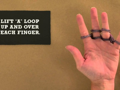 How to Knit with your Fingers
