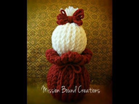 How to Loom Knit an Amigurumi Doll - with 2 Preemie Hats