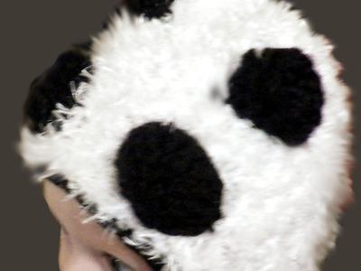 How To Loom Knit Panda Bear or Bear Hat