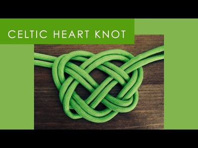 How to Make a Celtic Heart Knot