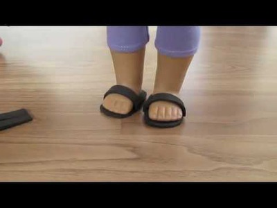 How To Make AG Doll Shoes out of Craft Foam