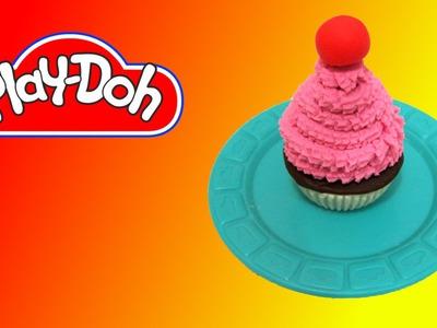 How to make Play Doh Cherry Cupcake