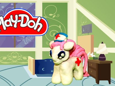 How to make Play Doh Nurse Redheart My Little Pony