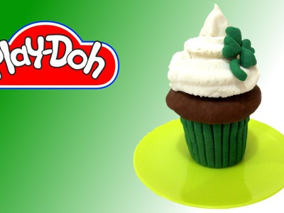 How to make Shamrock Muffin out of Play Doh