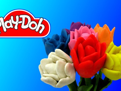 How to make Tulips out of Play Doh