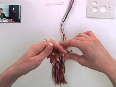 Knitting Help - Making Tassels