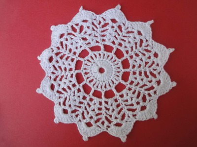 Круглый мотив Round Crochet motif