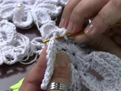 Mulher.com 24.12.2013 Marcelo - Porta sabonete com flor mosquitinho de bico