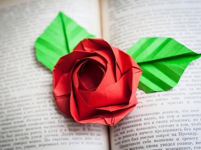 Оригами. Origami. Роза оригами Rose origami 折り紙, 종이 접기