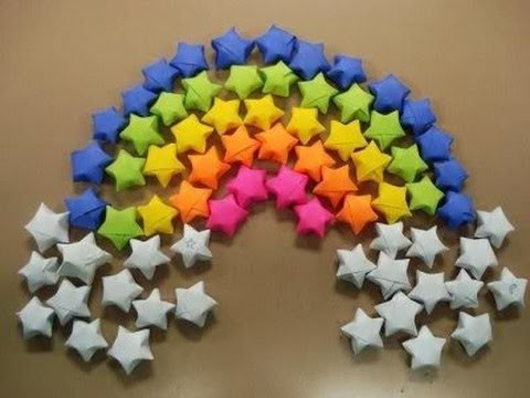 Paper stars. origami stars tutorial