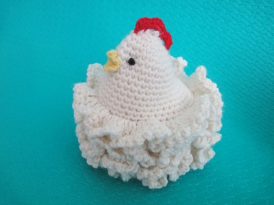 Пасхальная курочка Часть 1 Easter chicken Part 1 Crochet