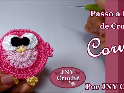 Passo a Passo Coruja de Crochê por JNY Crochê