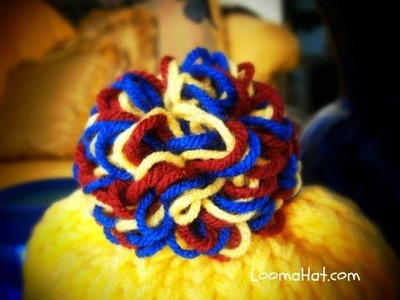 Pom Pom. Bows on the Flower Looms