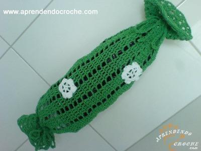 Puxa Saco em Croche Facility - 1º Parte -  Aprendendo Crochê