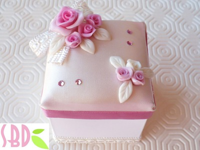 Tutorial: Decorare una scatolina di carta - Decoration of a paper box