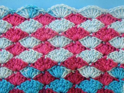Узор вязания крючком 49 Crochet pattern